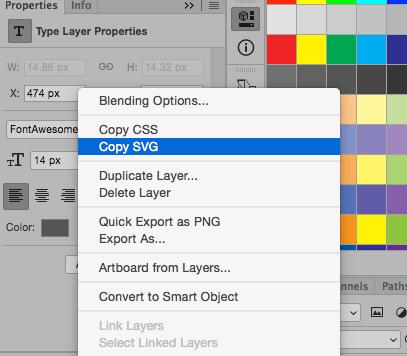Copy SVG Adobe XD
