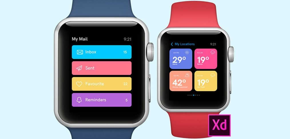 Apple Watch Adobe XD