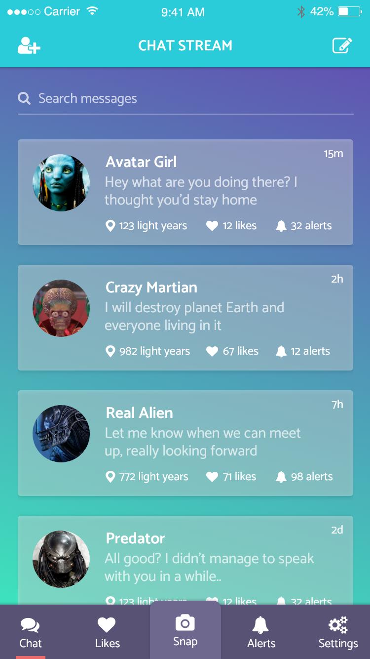 Alien chat xd 2