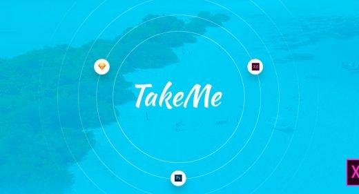Take me XD Ui kit