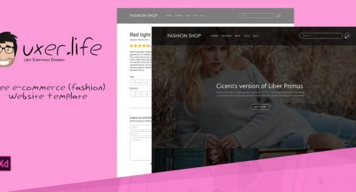 free-ecommerce-template-xd