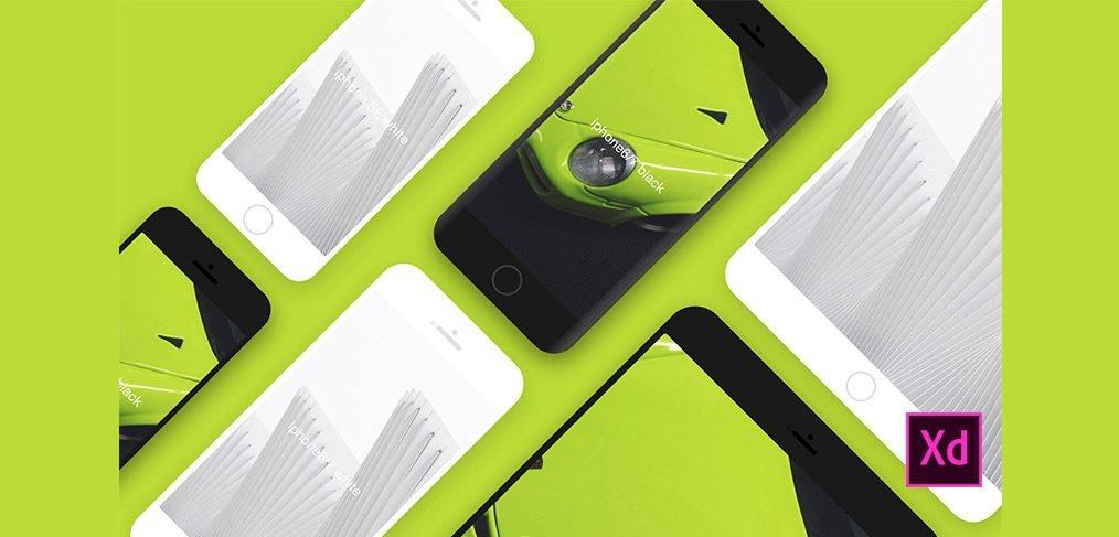 iphone ipad mockups xd