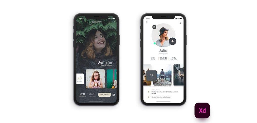iphonex-profile-screens-xd