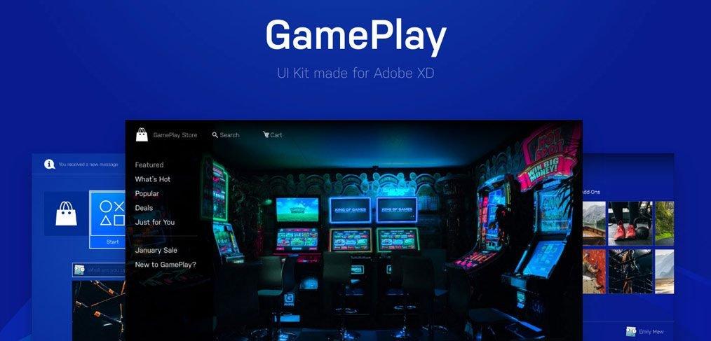 gameplay-ui-kit-xd