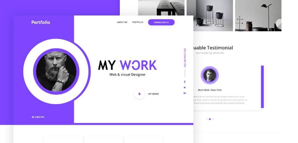 Personal Portfolio Web Template