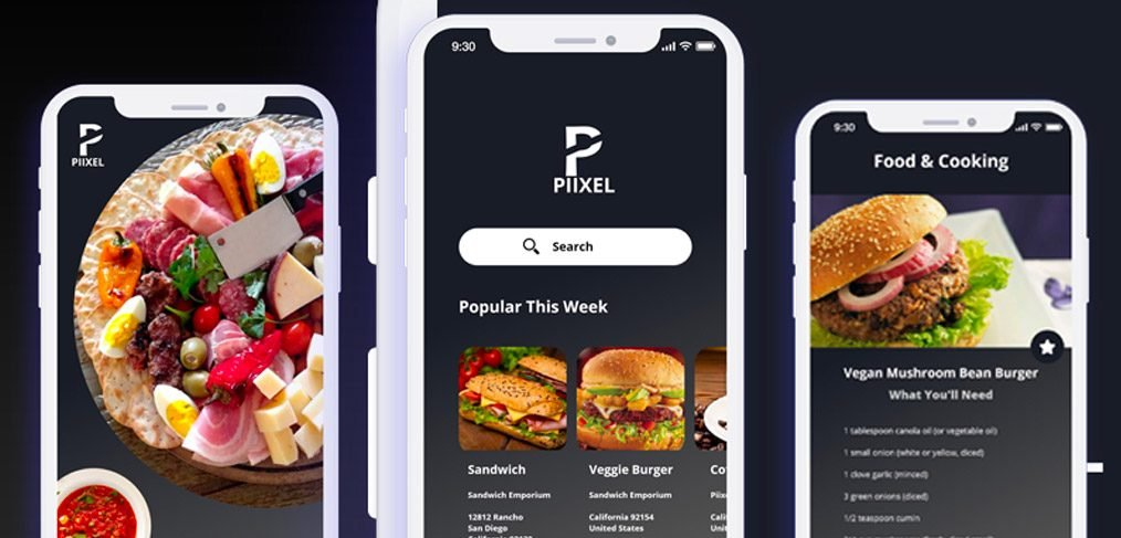 Restaurant App Design ios X adobe xd