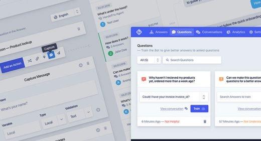 Free Chatbot UI kit for XD