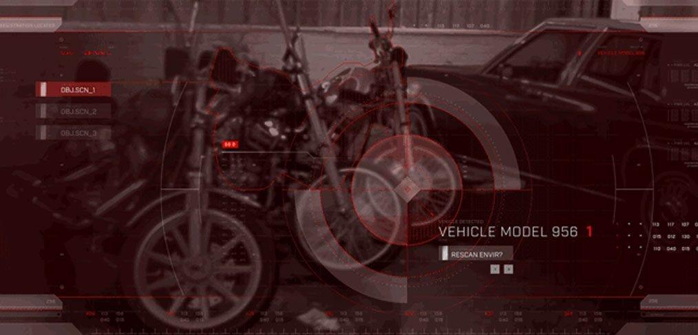 Terminator 2 Movie Magic UI kit XD