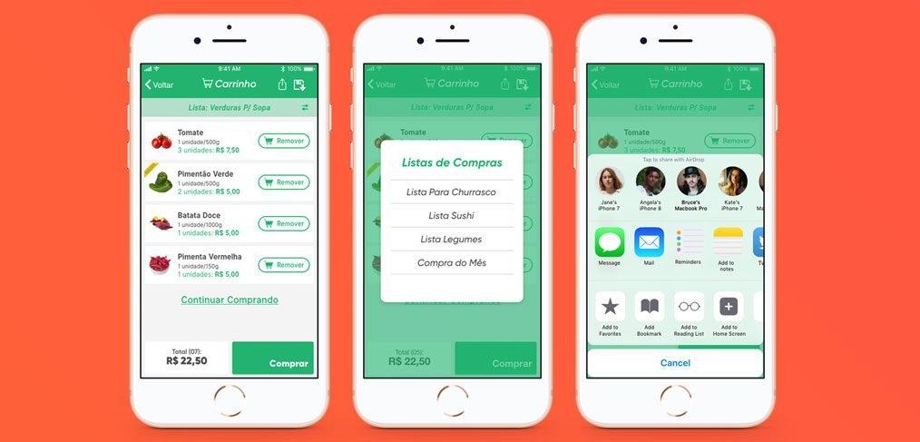 Recurso free app delivery concept