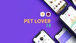 Pet Lover 2 - UI kit for XD (Premium)