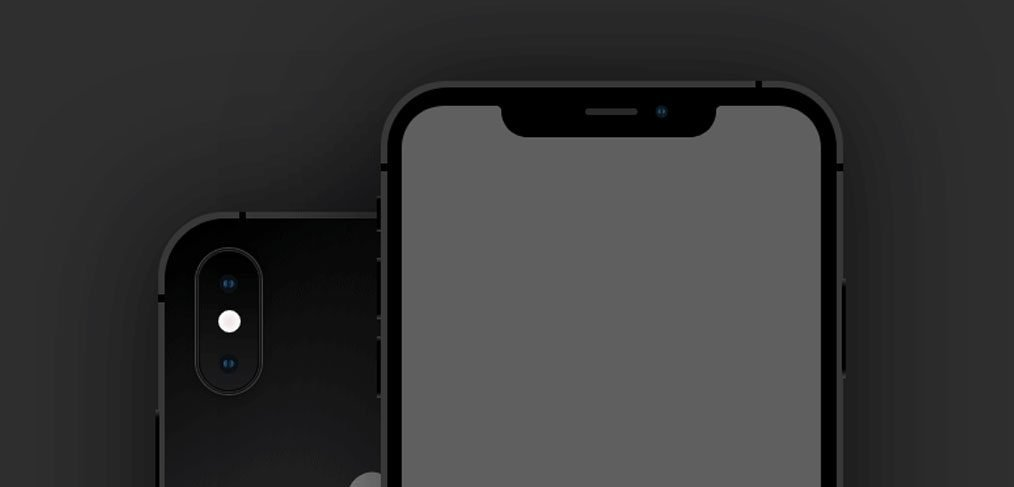 iPhone XS, XR Mockups for XD