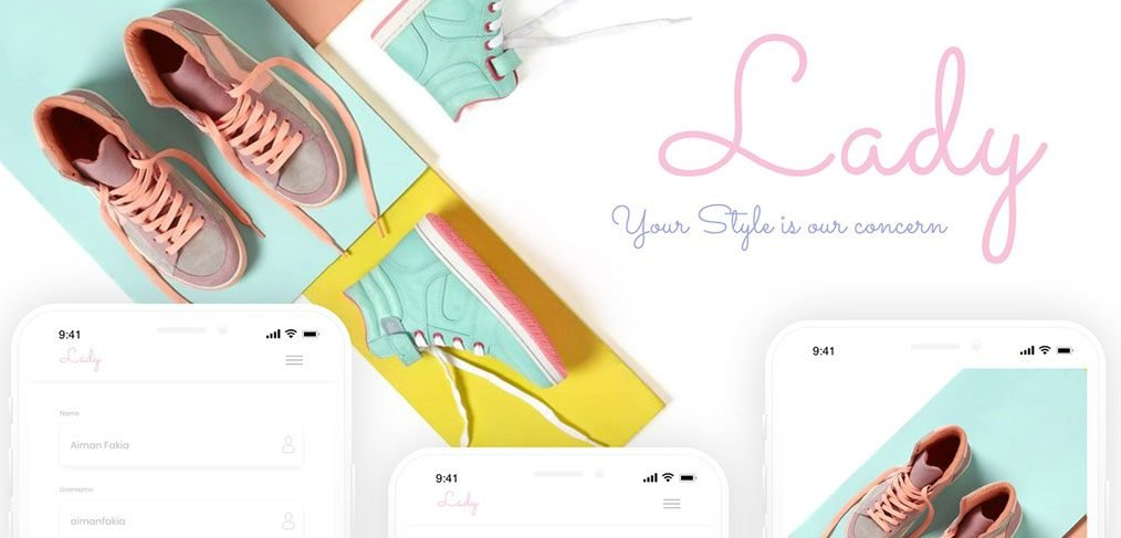Lay - Mobile app template