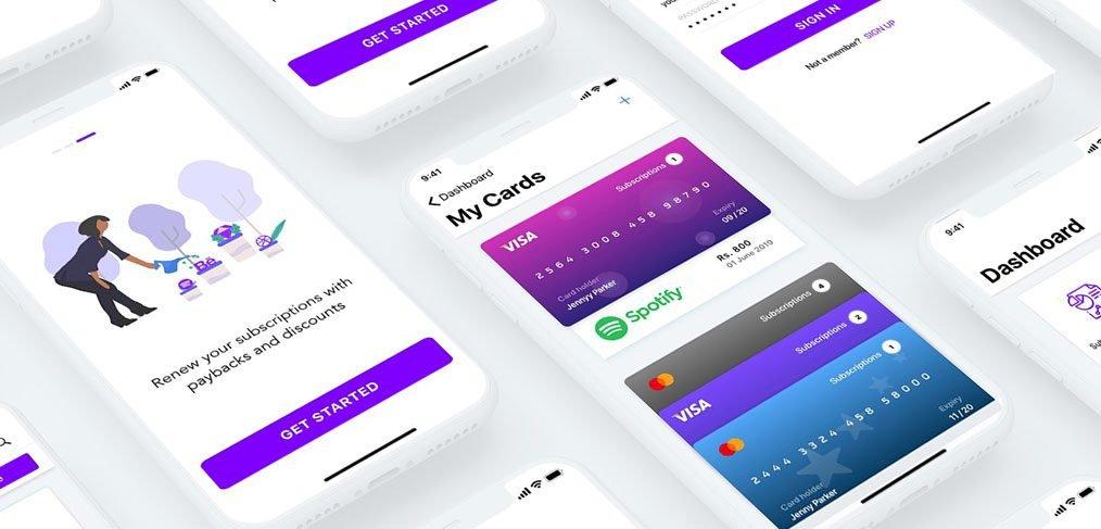 Subscription App Free UI kit