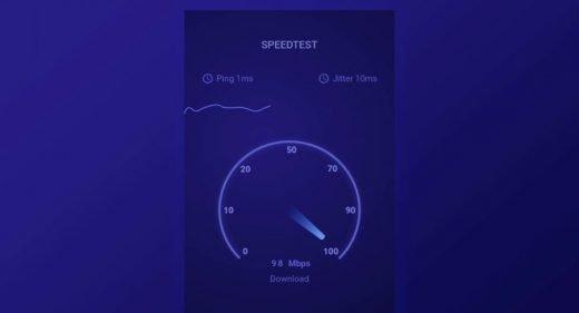 Speed Test Animation