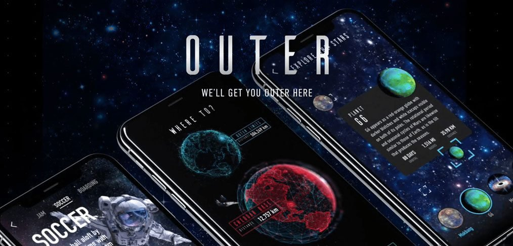 Outer Space XD App Template