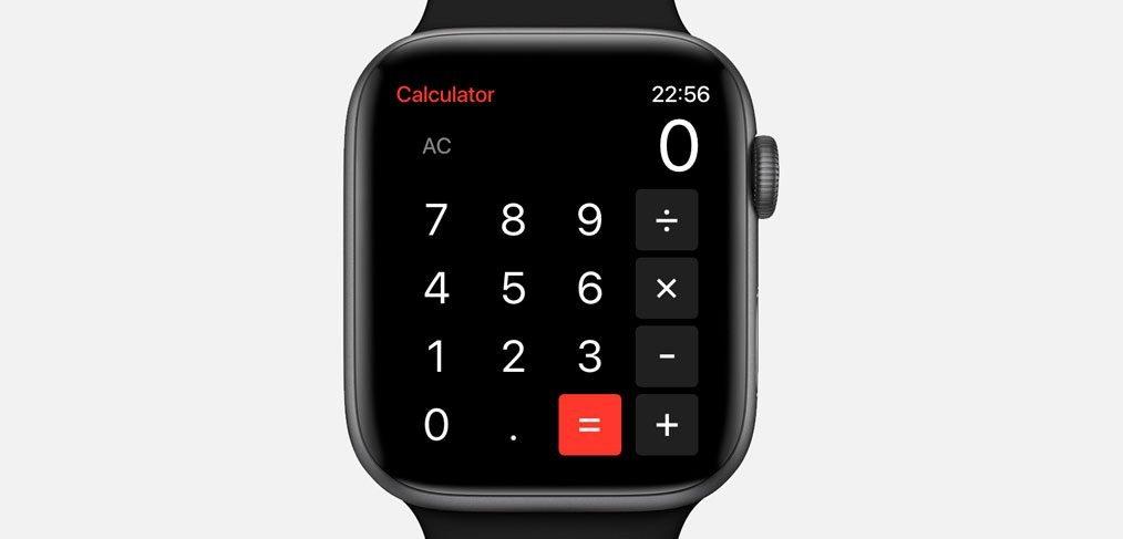 Watch Calculator XD Template