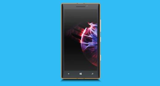 Windows Phone XD mockup