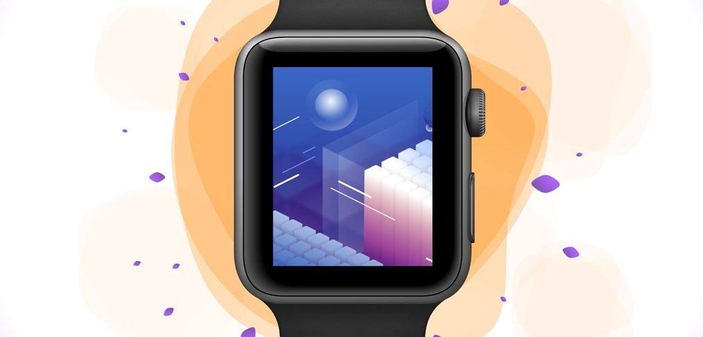 Apple Watch S3 XD Mockup