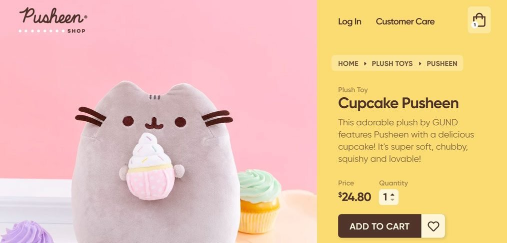 Cupcake XD product page
