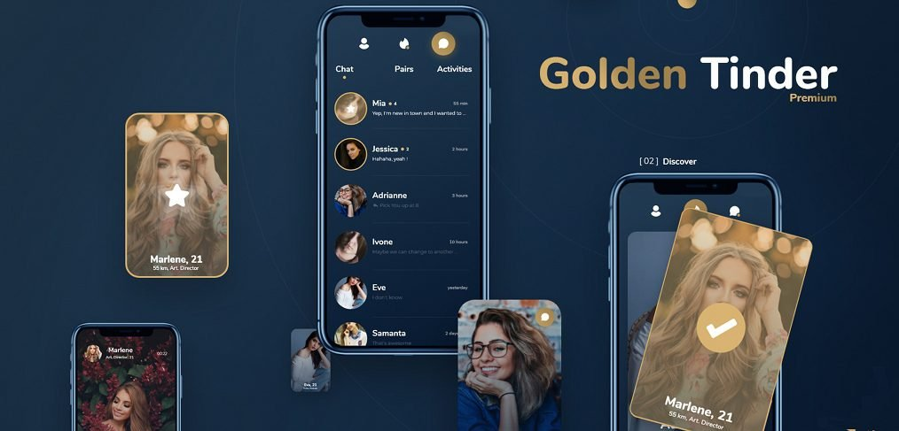 Dating App XD redesign template