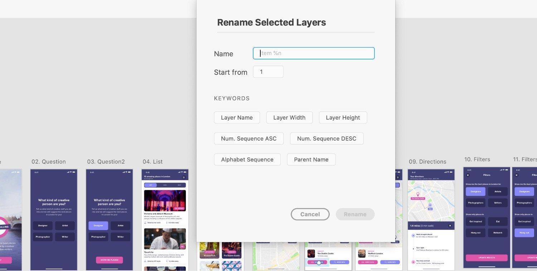 Rename it XD plugin
