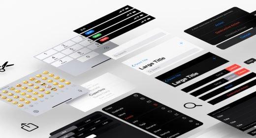 iOS 13 Adobe XD UI kit (Official)