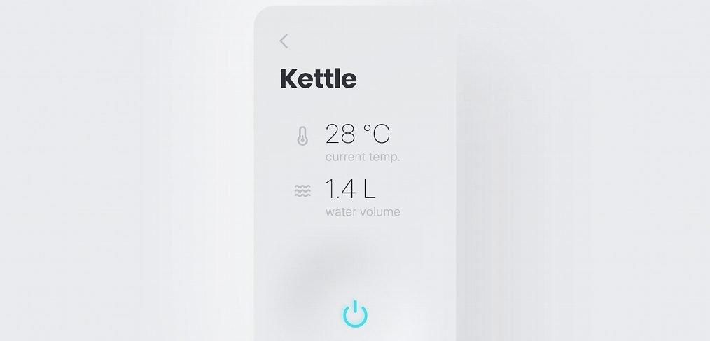 Kettle app XD animation concept