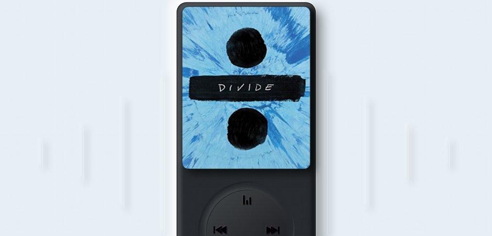 Neomorphic iPod XD mockup