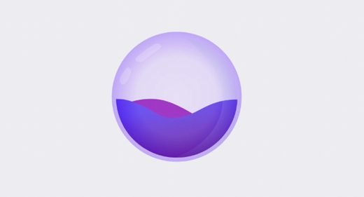 Water droplet XD animation