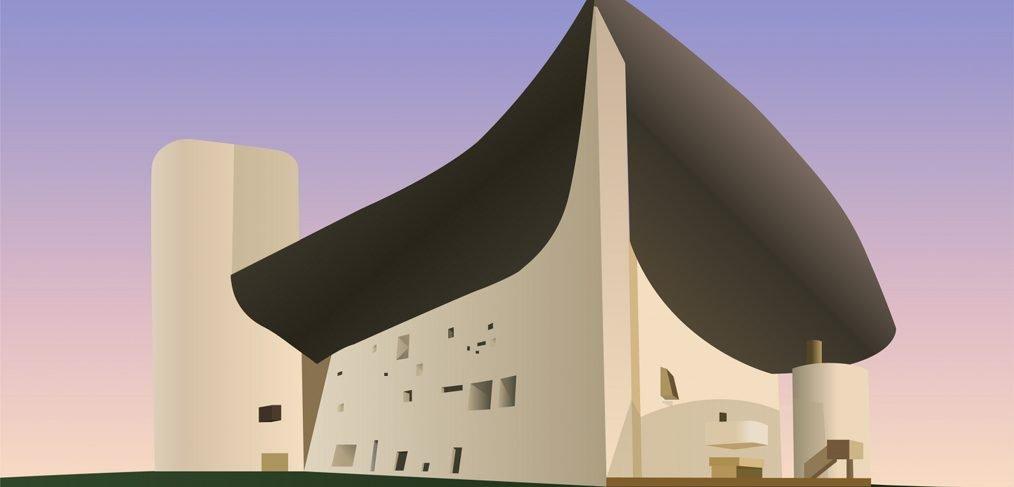 XD church illustration