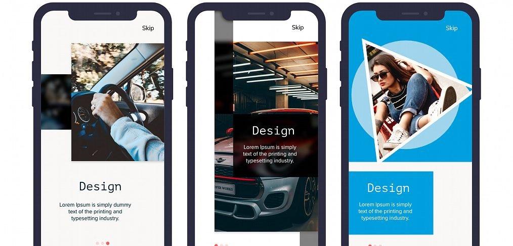 Free mobile app XD Walkthrough