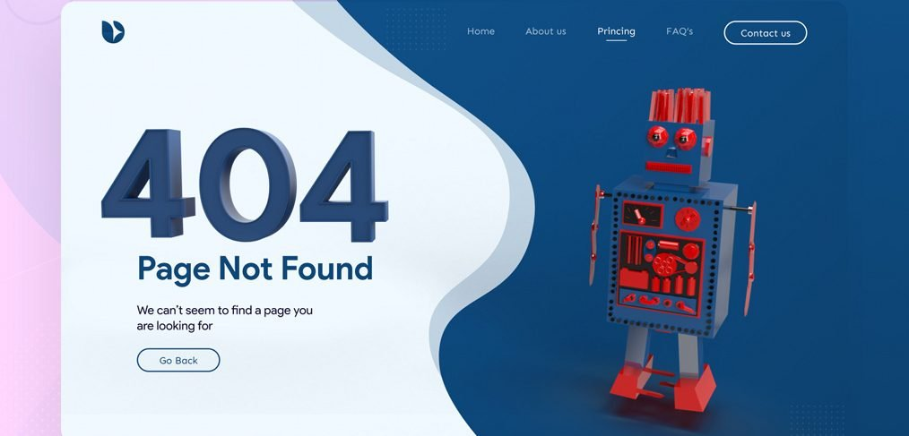 404 XD page template