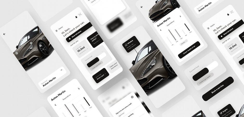 Car checkup XD app template