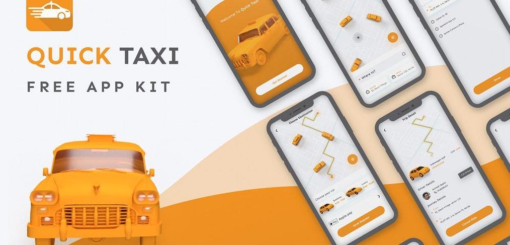 Taxi app freebie for XD