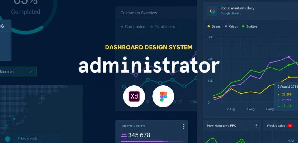 dashboard xd design system