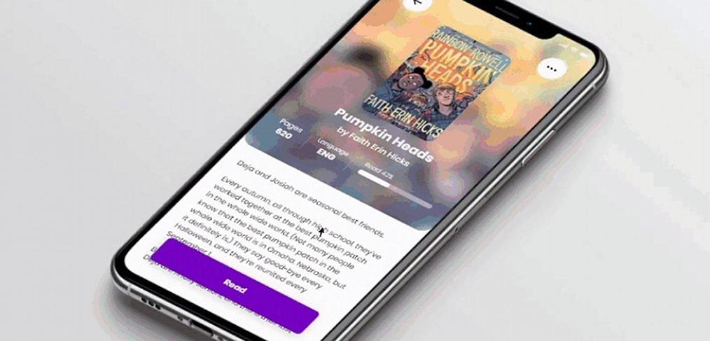 eBook reader XD app interaction