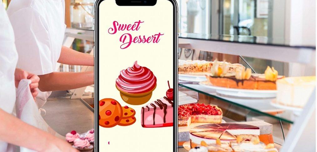 Sweet desserts XD animation