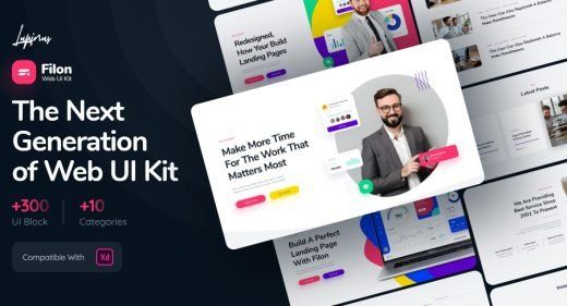 Filon - Premium XD Web UI kit