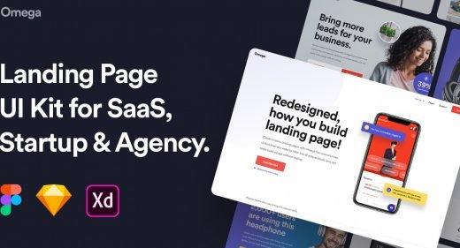 Omega - Premium Landing page templates