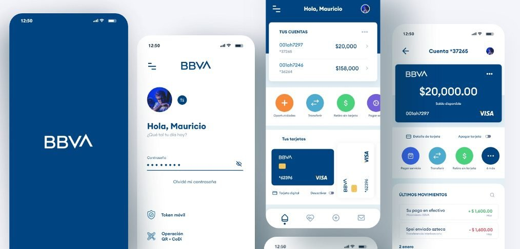 XD free banking app template