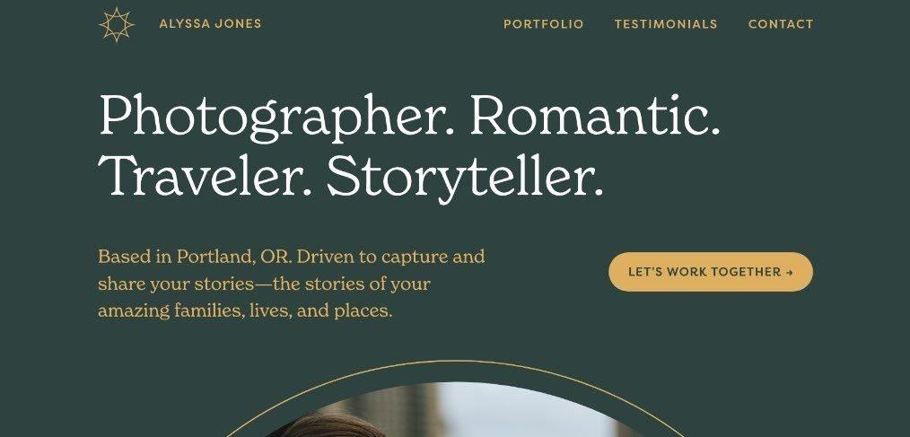 3 free Adobe XD portfolio templates