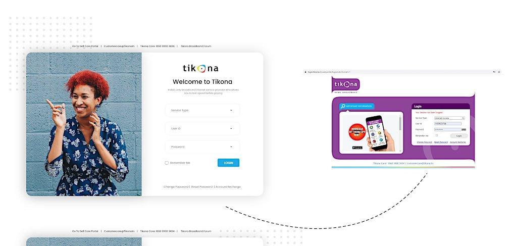 Adobe XD login template