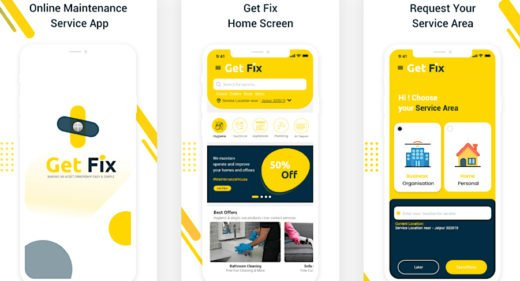 App store XD presentation images template